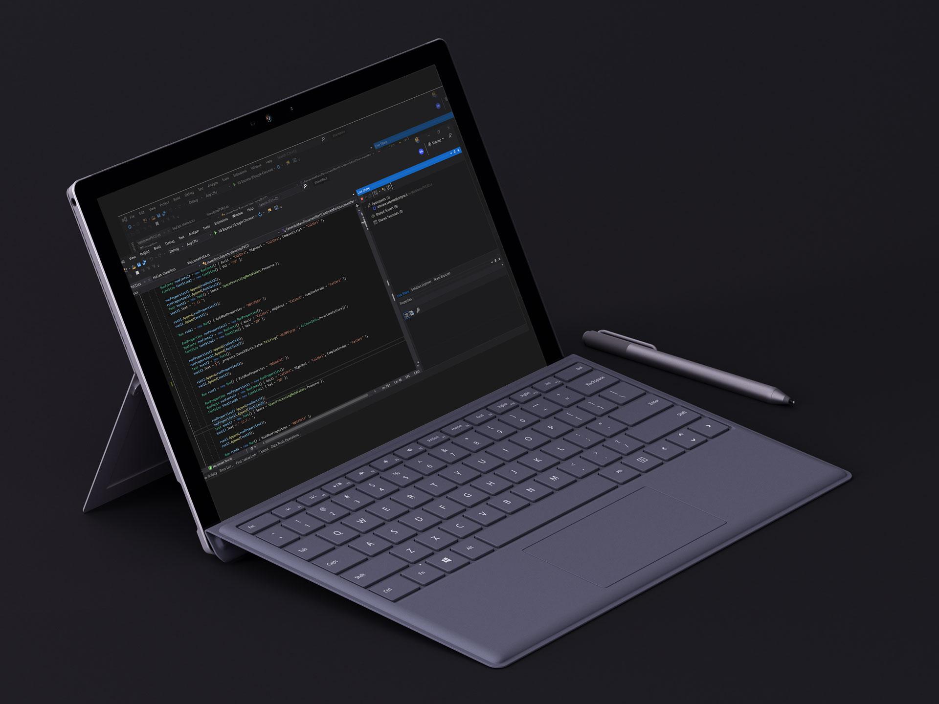Live Session in Visual Studio .net 2019